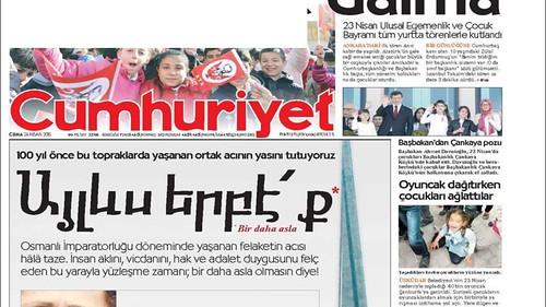 Cumhuriyet cover