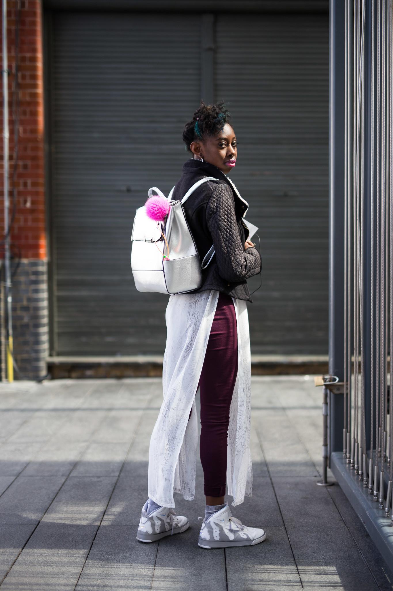 Street Style - Gabriella, Spitalfields Market