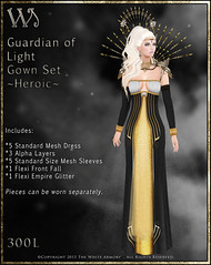 Guardian of Light Gown Set-Heroic_Promo Art