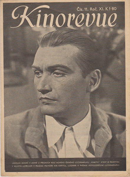 Časopis Kinorevue 1944-45 č.10, Ladislav Boháč
