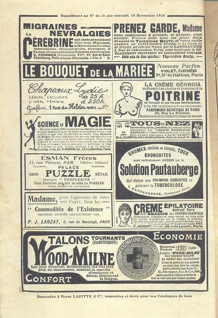 Je Sais Tout, No. 70, 15 Novembro 1910 - 31