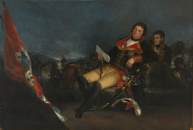 Retrato de Manuel de Godoy durante la Guerra de las Naranjas. Goya