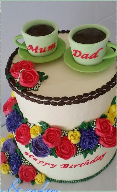 Grace Mallari's Sweet Couple Cake