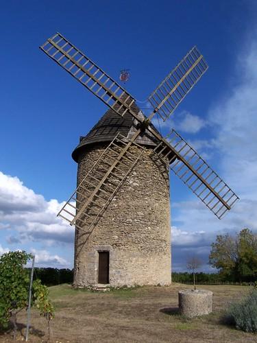 Moulin Haut-Benauge Gornac Gironde pierre nature bois paysage vignes pique nique