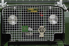 Land Rover Radiator Badge