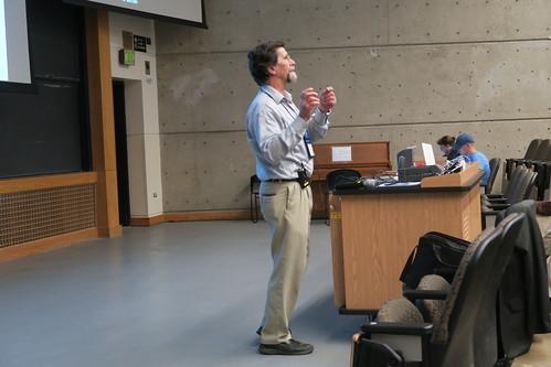 John Kineman, Monday plenary