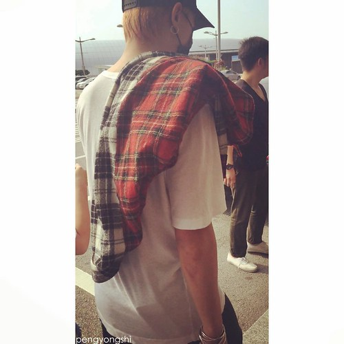 BIGBANG departure to Shenzhen 2015-08-07 (5)