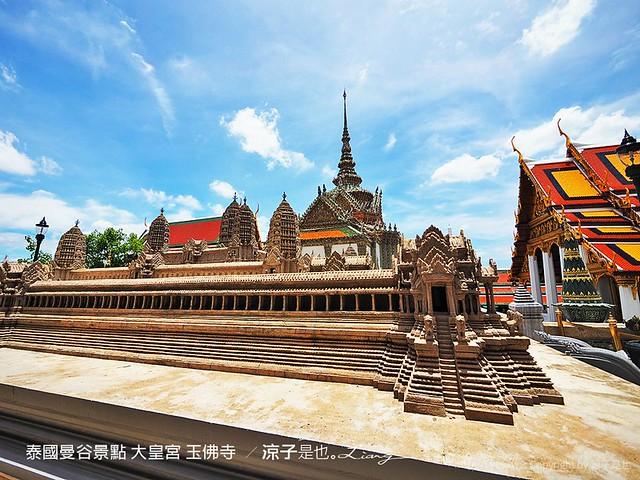 泰國曼谷景點 大皇宮 玉佛寺  58