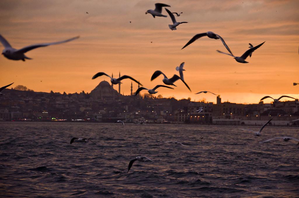 Istanbul Sunset at Sultanahmet