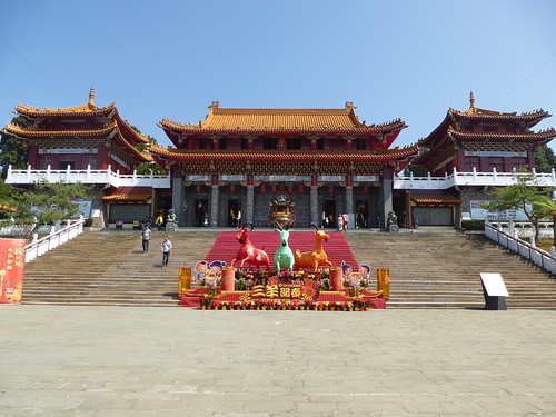 Ta-Sun Moon Lake-j2-est-Temple Wenwu (2)