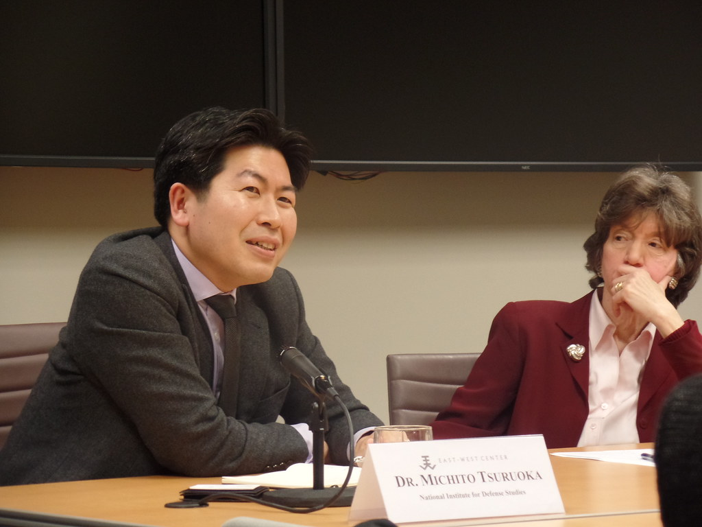 Dr. Michito Tsuruoka, Senior Research Fellow, National Institute for Defense Studies; and Dr. Ellen Frost, East-West Center in Washington