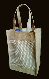 Special Jute Lunch Carrier & Bottle Carrier Bag