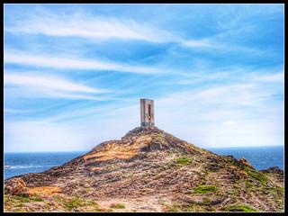 Cap de Creus(Cape of the Cross) shipping beacon, Costa Brava, Spain.