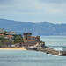 Fort Socoa and seawall, Ciboure, France by Monceau