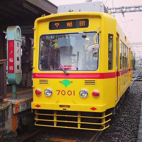 始発駅、三ノ輪橋から。 #都電pw2015