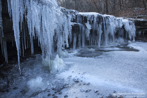 park winter creek river woods midwest nebraska state hiking sp platte icicles decker right2roam