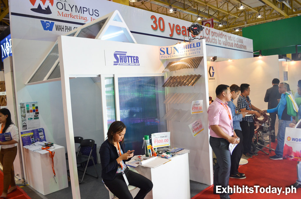 Sea Olympus Marketing Exhibit Stand