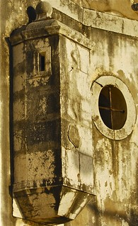 Sesimbra' fort detail (Fortaleza de Santiago)