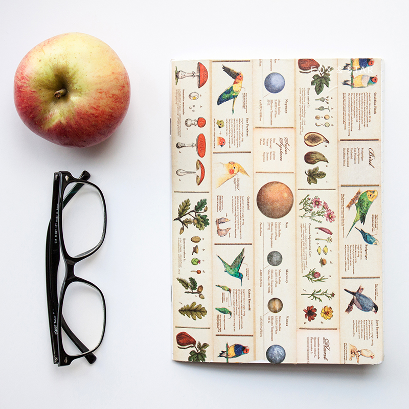 Washi Tape Book Cover Ideas : Washi tape ideas a diy notebook cover fox and star