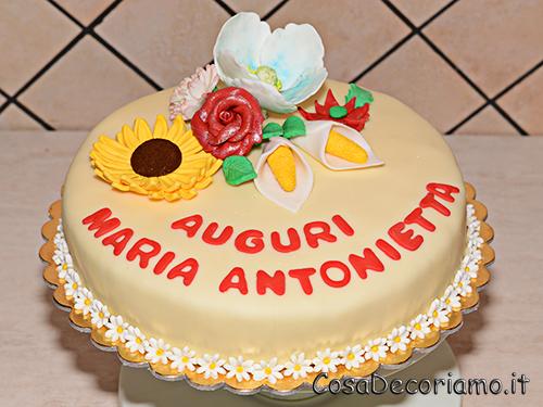Torte - 48 - Torta Fiori