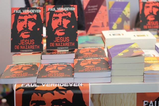 Jésus de Nazareth, Paul Verhoeven (Aux forges de Vulcain) - Salon du Livre de Paris 2015