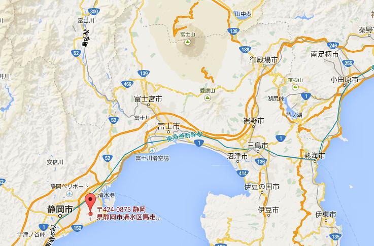 日本平map