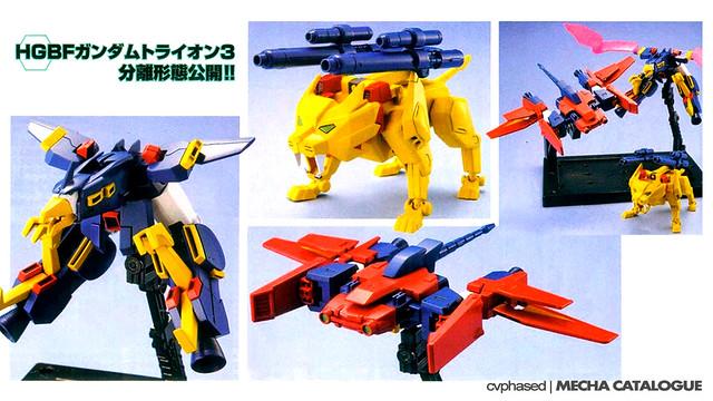 HGBF Gundam Tryon 3 - Sora Tryon + Umi Tryon + Riku Tryon