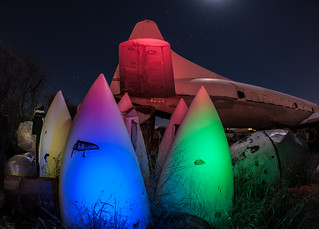 """""""Have you seen the movie 'Alien'?"""" ready for hatching at the boneyard in Tucson"""