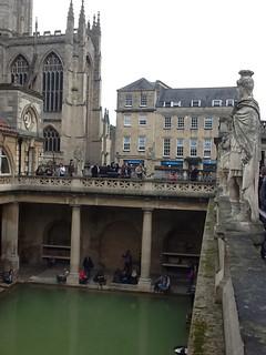 Main pool at Roman Bath