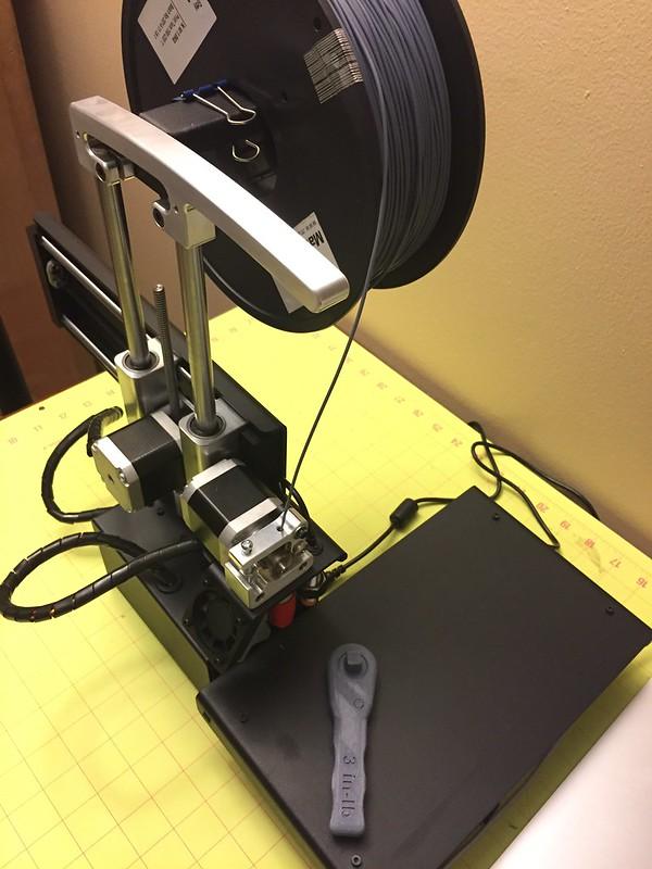 NASA 3D Printed Wrench
