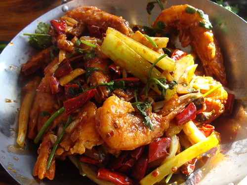 Hot Spicy Prawns