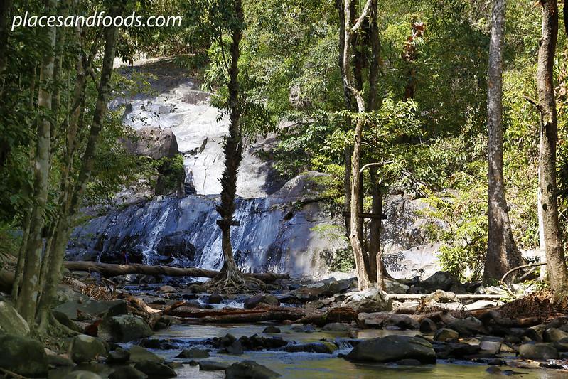 Namtok Ton Nga Chang (Elephant Tusk Falls) wide shot