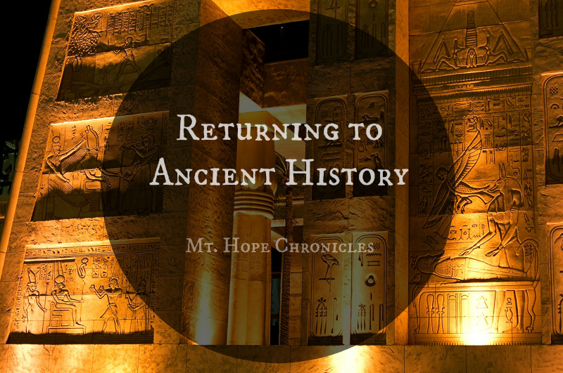 Ancient History Resources @ Mt. Hope Chronicles