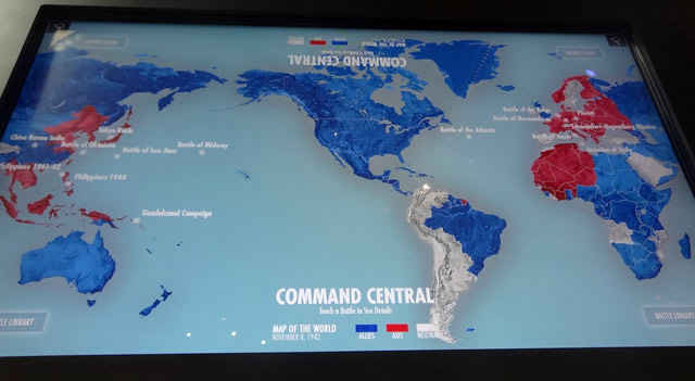 command-central-map museum exhibits