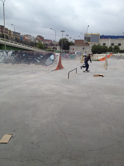 Skate Park in Arequipa