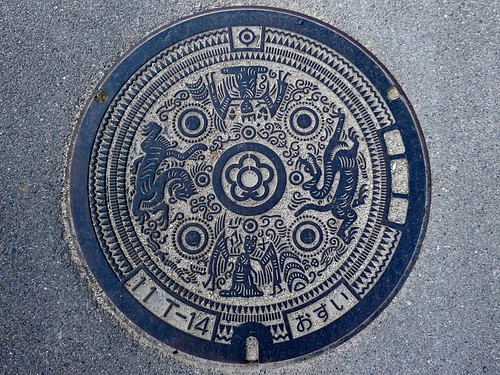 Tenri Nara, manhole cover (奈良県天理市のマンホール)