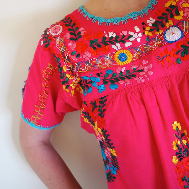 Mexican blouse -®S&Y 2104
