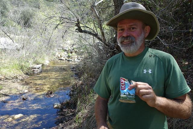 PCT day 7.  Agua Caliente Creek