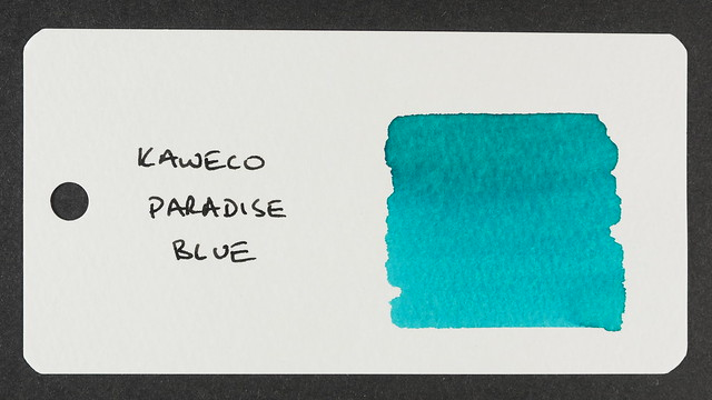 Kaweco Paradise Blue - Word Card
