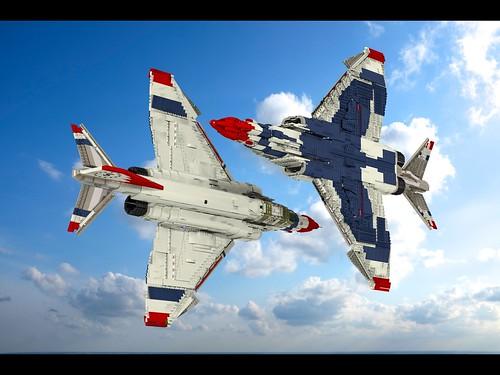 F-4E Phantom II USAF Thunderbirds