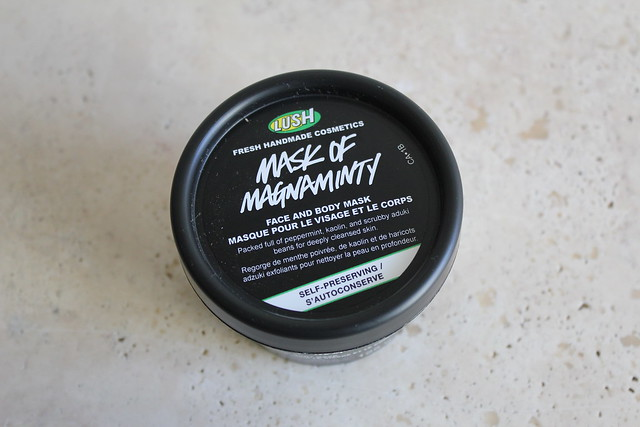 LUSH Mask of Magnaminty review