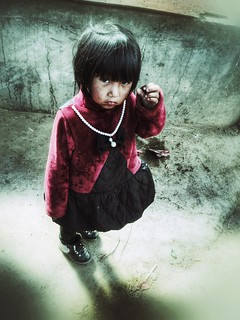 After the tears, it dawned on her that life is strange and that she might need some tears saved for later~ Yunnan
