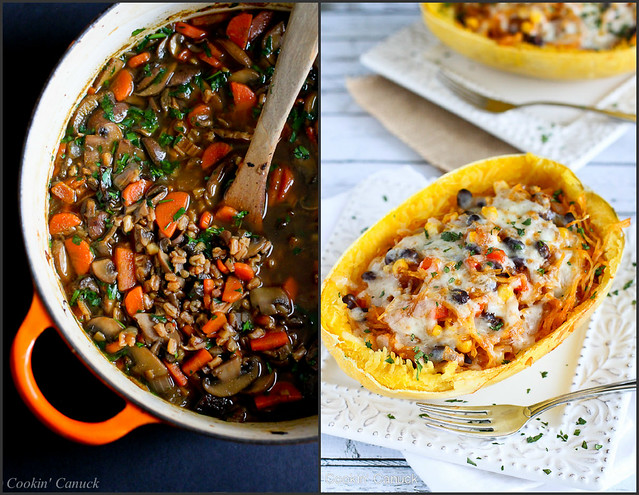 Healthy Vegetarian Recipes | cookincanuck.com