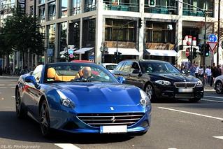 Very Nice Blue Ferrari California T