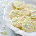 Giant Easter chocolate buttons