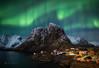 Aurora over Hamnøya