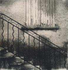 Stair and Shutter - 'Roid Week Spring 2015 Day 5