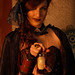 Steampunk shoot with Athena and Aileen: try my potion (poison)