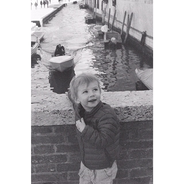 This kid. #venice #film #35mm #blackandwhite #leica