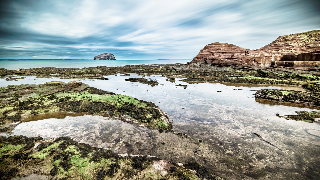 Bass rock, North Berwick, Scotland, United Kingdom, Landscape photography picture